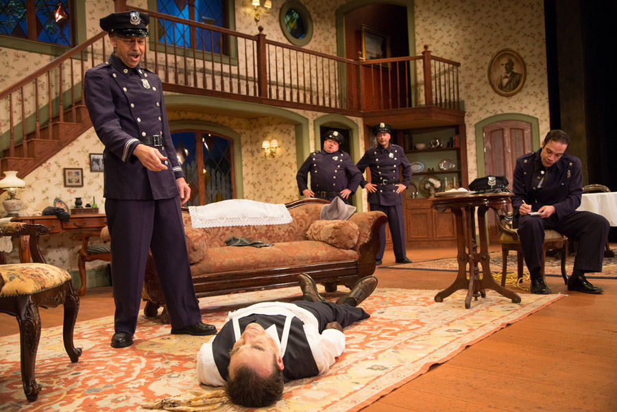 Arsenic and Old Lace - Paul Ugalde, Christian Kohn, Adam Cunningham, David Harcourt, Justin Quackenbush